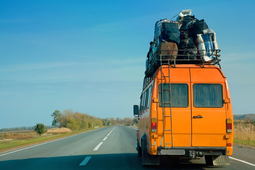 Viaje en carretera