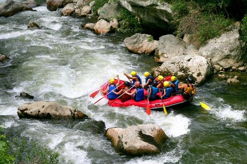 Rafting Río Negro