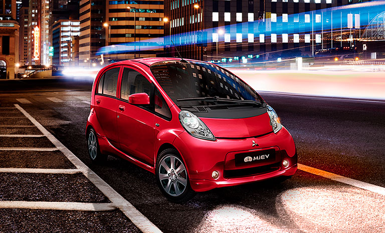 i-miev carros de motor eléctrico para la ciudad