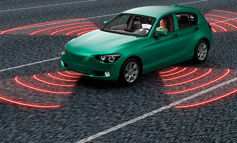 carros autónomos sensores