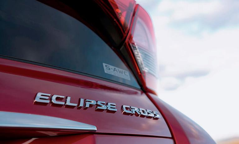 eclipse cross con el sistema de conducción S AWC