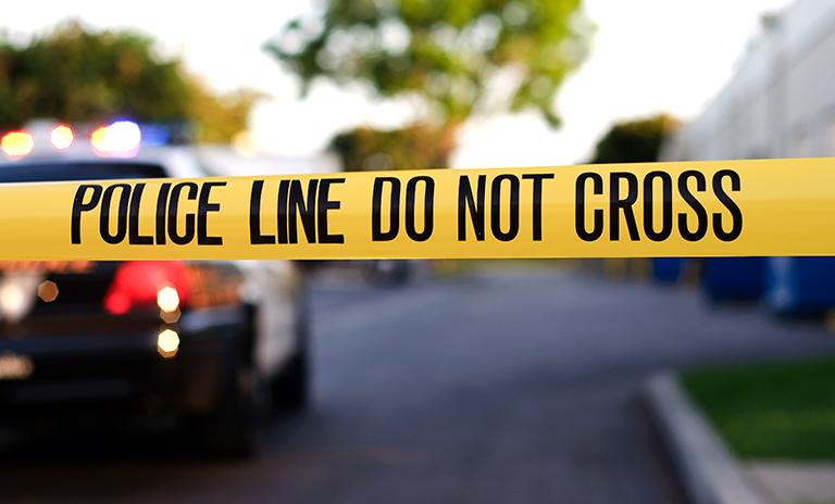 Auto escena del crimen