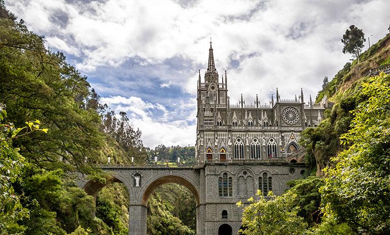 Santuario de Lajas en Pasto Nariño