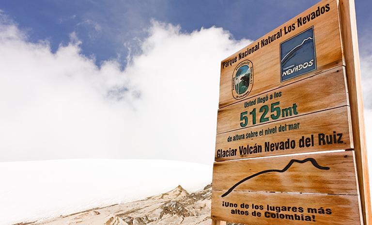 Pasar el fin de año en el Nevado del Ruiz