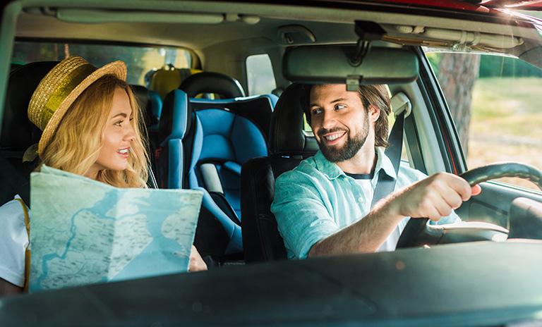 Ir de viaje con la pareja