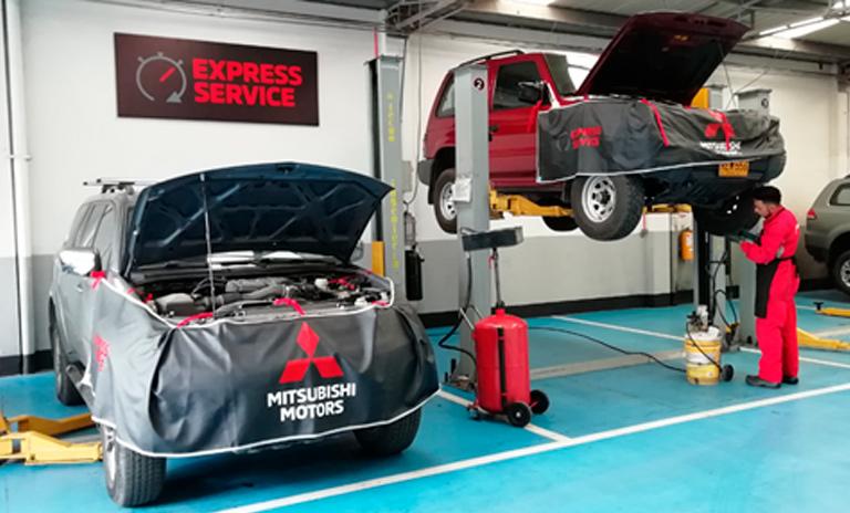 Talleres Mitsubishi donde se realiza el express service