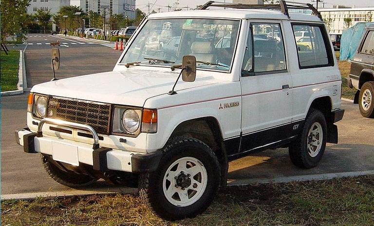 Camionetas Mitsubishi Montero primera generación