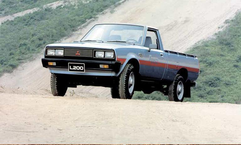 La segunda versión de L200 que incluía tracción 4x4