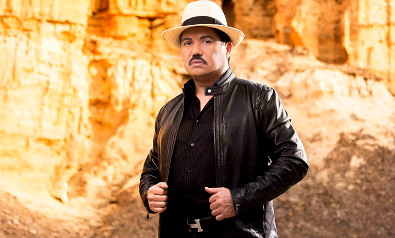 Luis Silva cantante de canciones de música llanera
