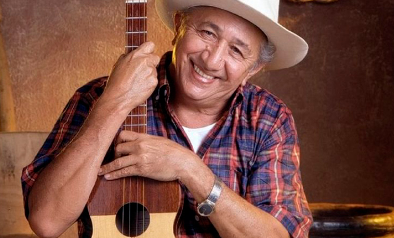 Simón Díaz cantante de canciones de música llanera