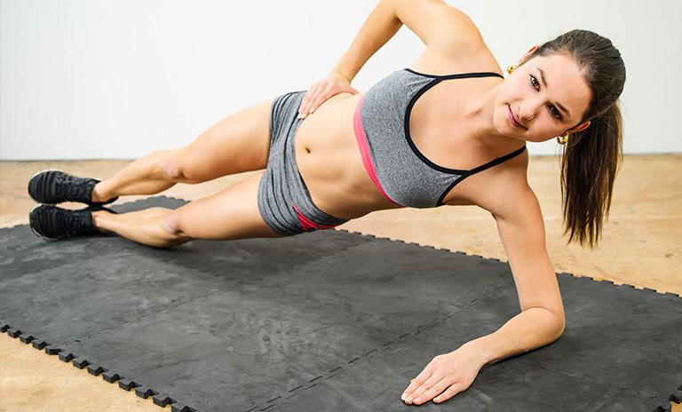 Planchas laterales para abdominales duros