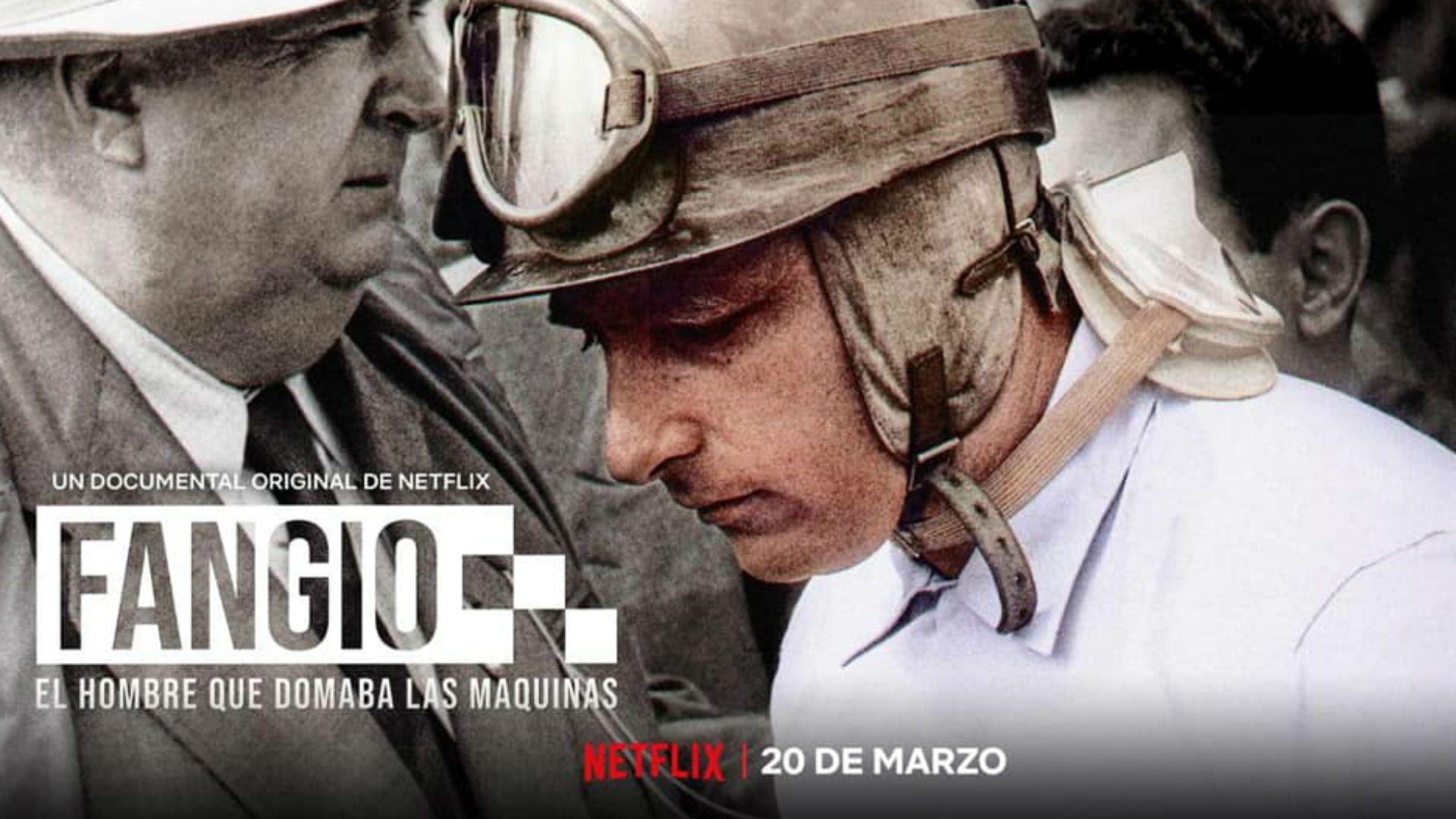 Fangio es una gran película de carro en netflix