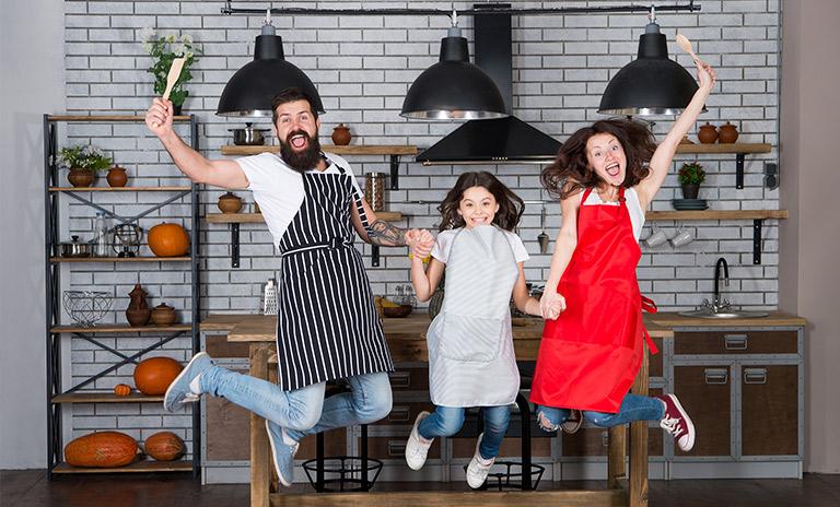 Felices por las recetas colombianas para preparar en familia