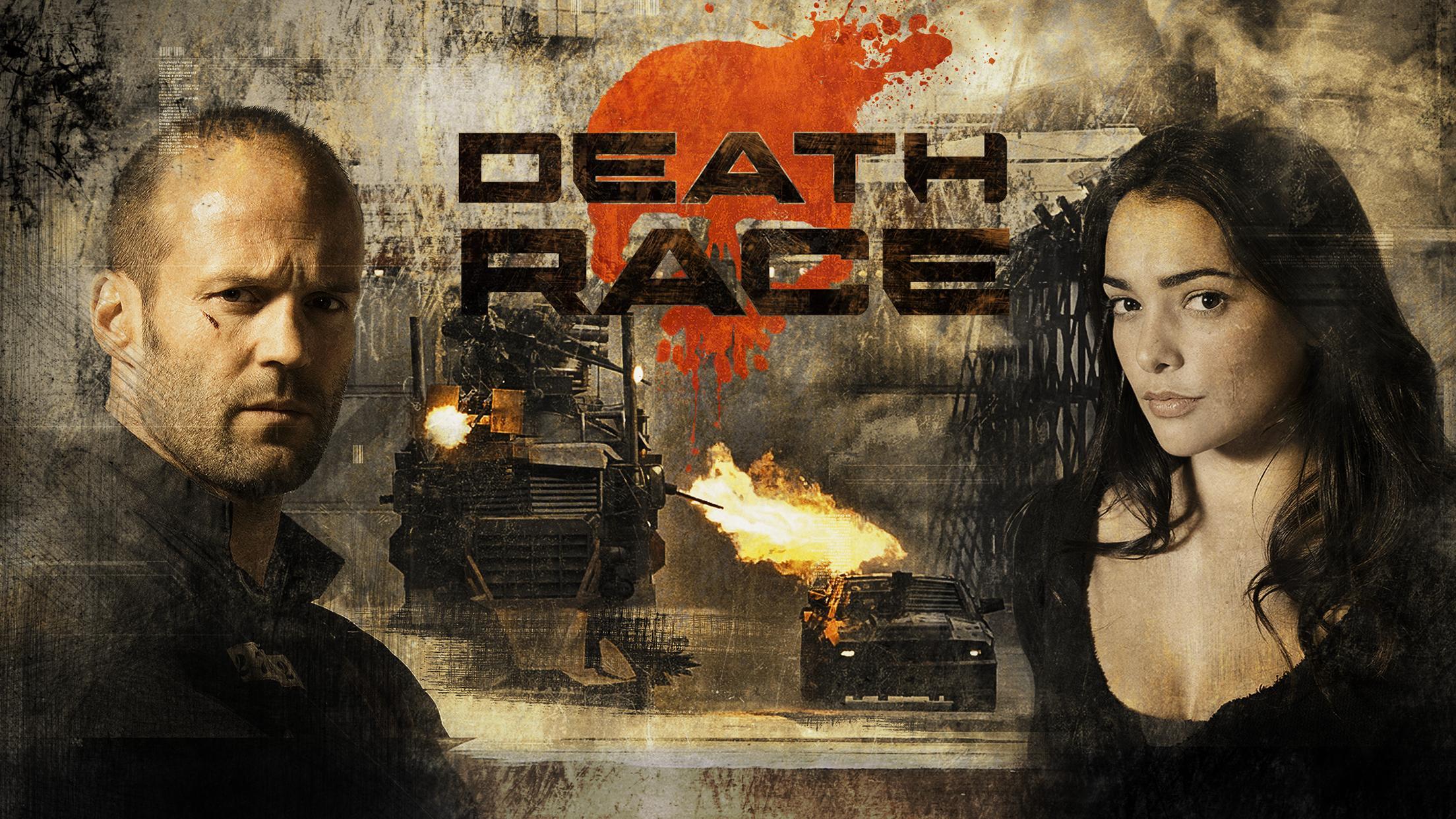 La carrera de la muerte es una de las películas de carros más emocionantes
