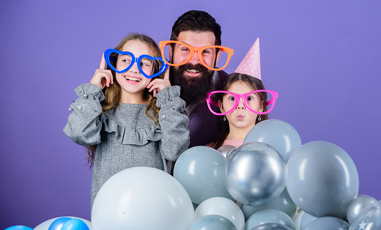 Las fiestas son un excelente regalo para el día del padre