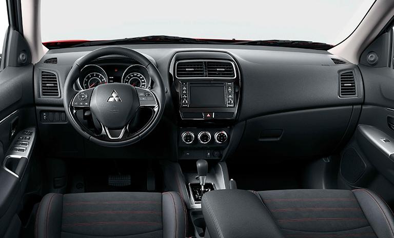 Interior de las camionetas Mitsubishi ASX