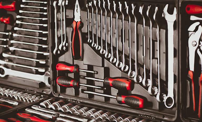 Kit de herramientas para el carro