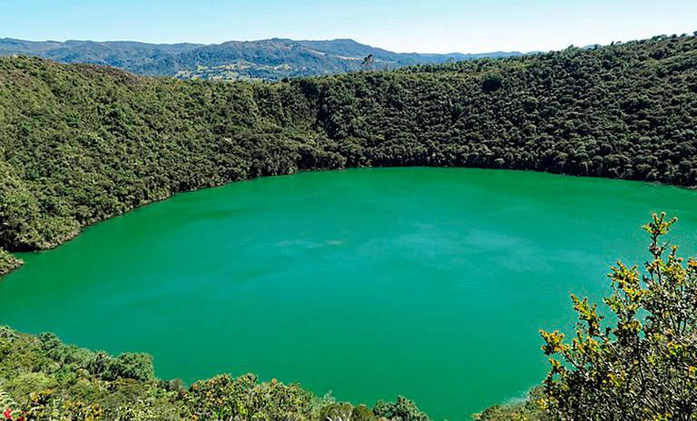 Laguna de Guatavita, un paraíso natural cerca de Bogotá