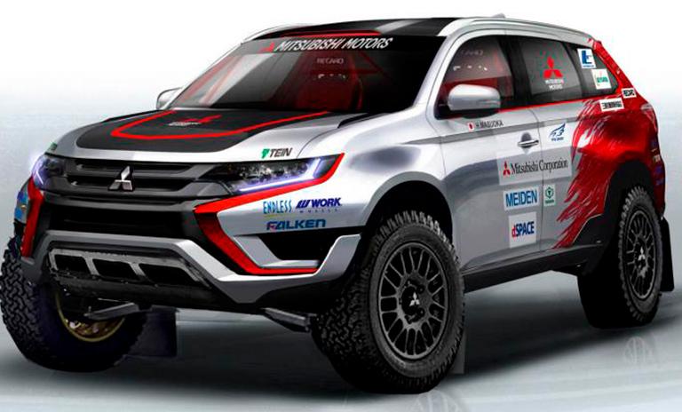 Camionetas de Rally Mitsubishi Motors
