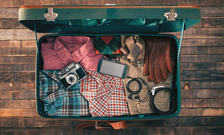 equipaje organizado