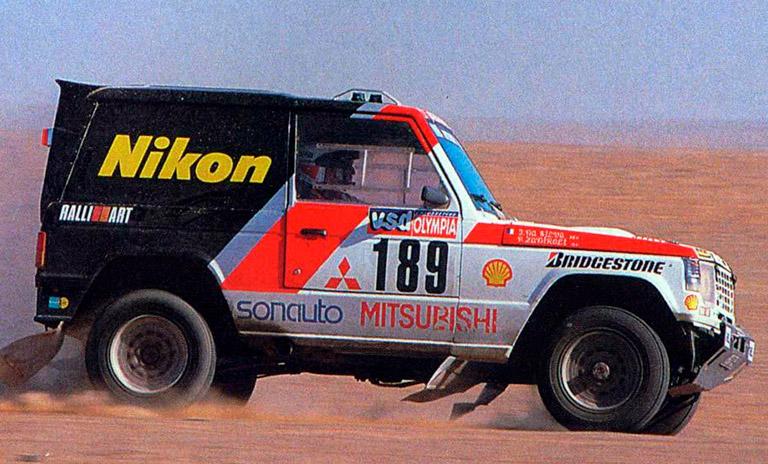 Camioneta Mitsubishi de Patrick Zanirolli
