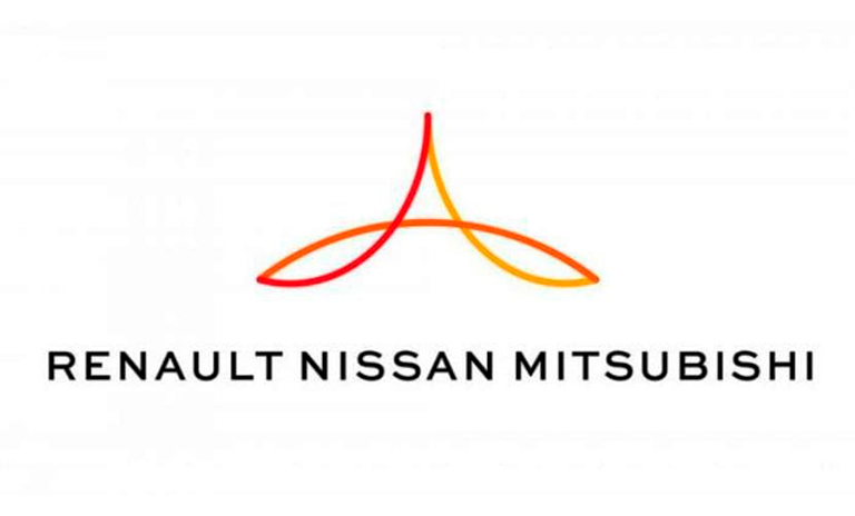 Logo de la alianza Renault Nissan Mitsubishi