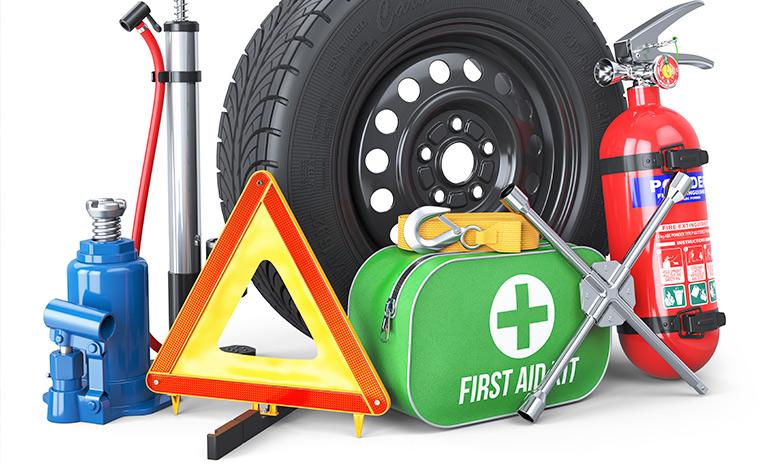 Kit de seguridad y herramientas completo