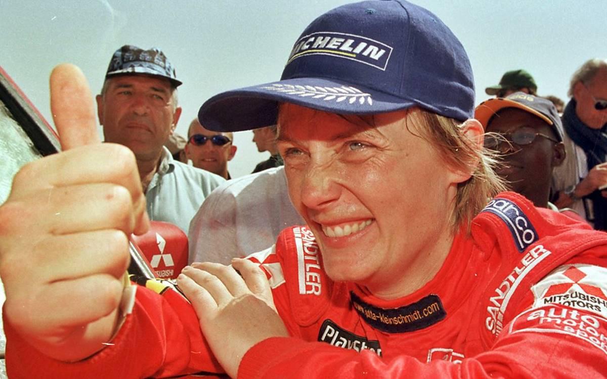 Jutta Kleinschmidt, campeona del Rally Dakar