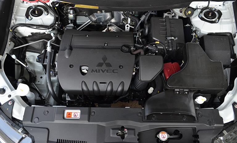 Motor MIVEC de las camionetas Mitsubishi