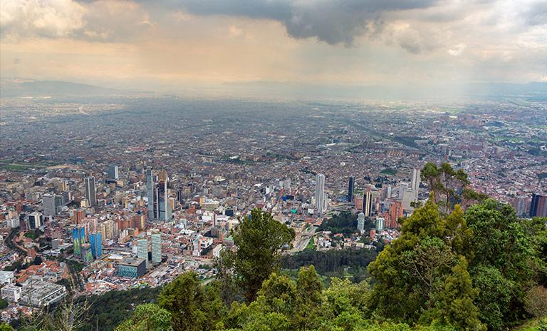 Monserrate, uno de los miradores de Colombia más famosos